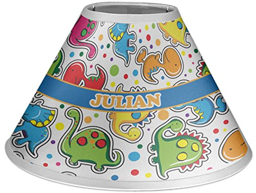 RNK Shops Dinosaur Print Coolie Lamp Shade (Personalized) by RNK Shops