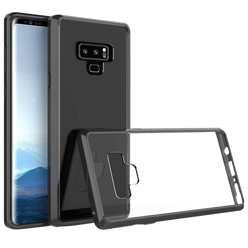 For Smasung Galaxy Note 9 Case, Iusun Gel Case Hard Crystal Hybrid Back Fusion TPU Bumper Cover Case For Samsung Galaxy Note 9 (C)