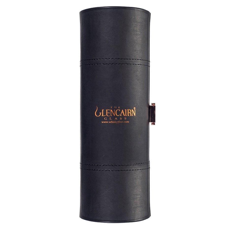 The Glencairn Glass del set da viaggio con due degustazione di whisky//Nosing occhiali
