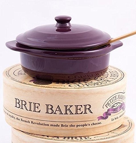 Brie Baker (Cuiseur a Brie) - Cassis (2.02 pound) by Wildly Delicious