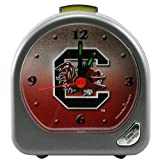 WinCraft NCAA University of South Carolina Alarm Clock, Black