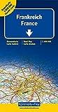 Kümmerly & Frey Karten, Frankreich, Doppelkarte Nord und Süd (Kümmerly+Frey Strassenkarten)
