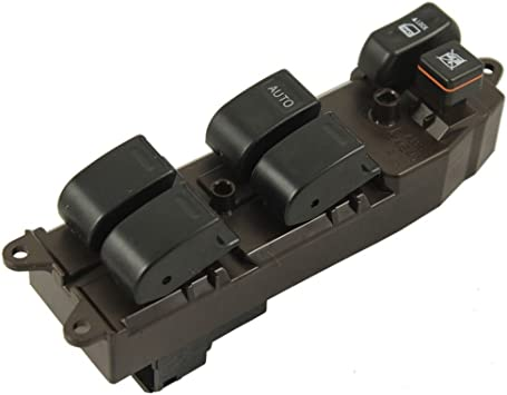Eynpire 9026 Power Master Window Control Switch Front Left Driver Side For 2003-2008 Toyota Matrix