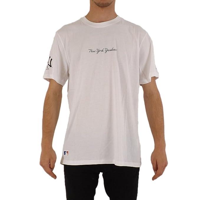 3c6620e3faae1 A NEW ERA Camiseta MLB York Yankees Elegance Blanco Talla  XXS (XX-Small