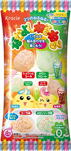 Gummy Melon (Kracie Nakayoshi neruneru Cola and Melon Soda Flavor DIY Candy Gummy)