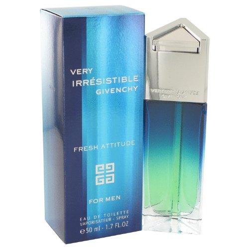 Very Irresistible Fresh Attitude by Givenchy Eau De Toilette Spray 1.7 oz / 50 ml for Men