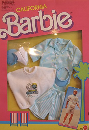 CALIFORNIA Barbie KEN FASHIONS w Fashion OUTFIT Clothes & ACCESSORIES - Buffy Sunglasses