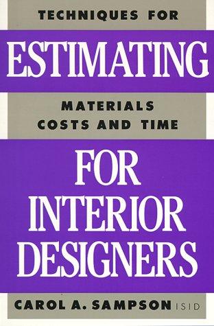 Estimating for Interior Designers: