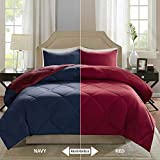 Comfort Spaces – Vixie Reversible Goose Down Alternative Comforter Mini Set - 2