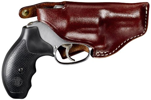 TRIPLE K Carrylite S&W K/L Frames Holster for Ruger Security Six and Taurus 66 with 4-Inch Barrel, Walnut Oil, Left