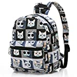 """Lightweight Travel Mini Backpack for Women and Teens (Beach White Small) 10 <p>MEDIUM size 15-inch backpack. Please note there are two sizes: small and medium. This medium-sized backpack is 15.5"""" tall x 11.5"""" wide x 6.3"""" deep. Binders, folders and laptop computers will fit. See pictures and description for reference and further details. POCKETS. Two side pockets for water bottles, sun-glasses, etc. Front zippered pocket for small items such as pens, phone, etc. Large main compartment with heavy-duty double zippers for big items such as laptop, binder, books, notebook, folder, and more. PERFECT for laptop. Convenient internal sleeve is ideal for a 14-inch laptop computer, tablet or iPad. Perfect fit for MacBook, MacBook Air or MacBook Pro 13-inch. Maximum laptop size is about 13-1/2"""" x 10"""" x 1"""" thick. DURABLE and PRACTICAL. Heavy-duty 600 denier oxford canvas exterior with padded back. 210 denier oxford interior lining. Adjustable foam-PADDED SHOULDER STRAPS fit all sizes from small teens to full-grown adults. OTHER USES: Lightweight carry on travel bag, ladies large backpack purse, cute preschool diaper bag, elementary school student bookbag, hiking, picnic etc.</p>"""
