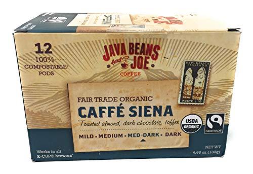 Sienna Coffee - Java Beans & Joe Coffee ORGANIC FAIRTRADE CAFFEE SIENNA MEDIUM DARK
