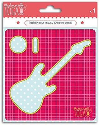 Mademoiselle Toga mero213 Plantilla Costura Guitarra cartón Gris ...