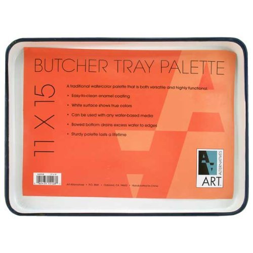 Enamel Butcher Tray 11X15 by Art Alternatives (11x15 Butcher Tray compare prices)