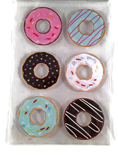 Large 3 D Stickers - 3-d Donuts Large Sticker Set Scrapbooking