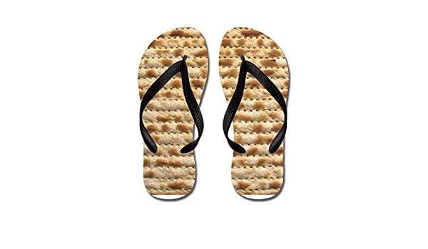 Lplpol Matzah Flip Flops for Kids and Adult Unisex Beach Sandals Pool Shoes Party Slippers