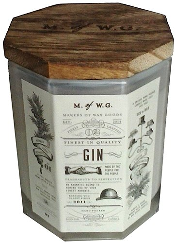 - Makers of Wax Goods Rich & Bold #2 Gin Wood-Wick 11.4 Oz. Candle In Glass