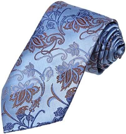 DAA7B07-09 Patterned Tie For Men Microfiber Elegant Neckwear By Dan Smith