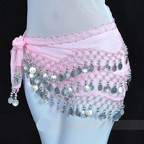 Vogue 14 128 nbsp;pièces Belly Hip d'or Cadeau Écharpe Dance Style Style Idée nwAAUPqY