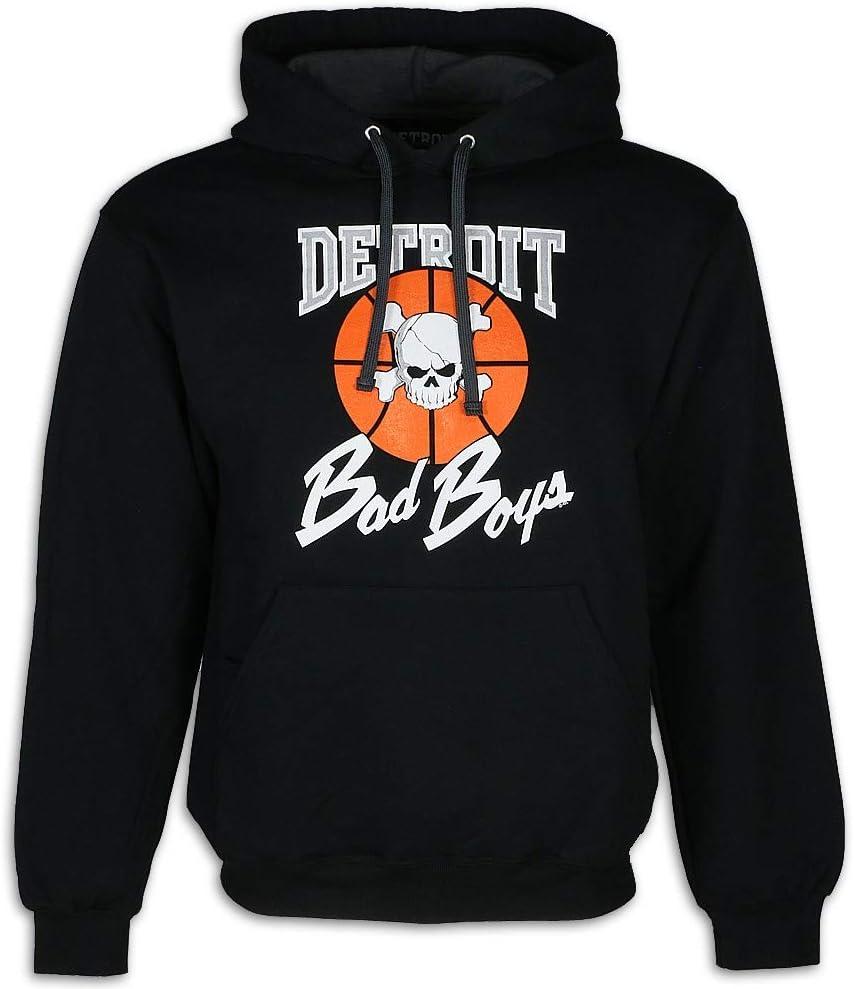 Detroit Pistons Bad Boys Apparel- Historic Men's Hooded Sweatshirt