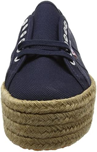 Superga 2790 Cotropew, Women'S Low-Top Sneakers, Blue (Navy), 8.5 UK (42 1/2 EU)
