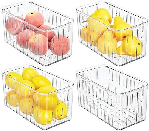 mDesign Plastic Refrigerator Organizer Circulation product image