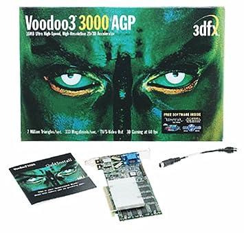 3DFX VODOO 3 3000 DRIVERS FOR WINDOWS XP