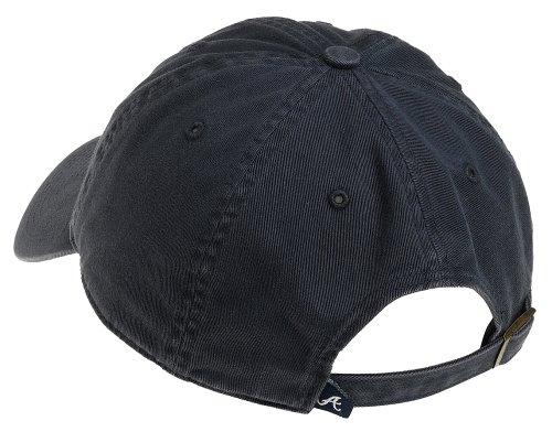 '47 MLB Atlanta Braves Clean Up Adjustable Hat, Navy, One Size