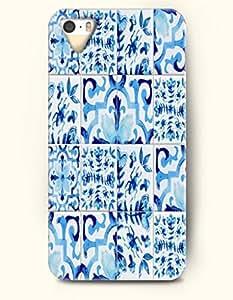 SevenArc Apple iPhone 5 5S Case Moroccan Pattern ( Blue Floral Doodle )