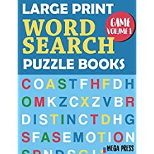 Large Print Word Search Puzzle Books: Big Word Search Books for Adults – Enjoy Your Moment Find Words & Circle words (Large Print 8.5x11 inches) - Game Volume 1