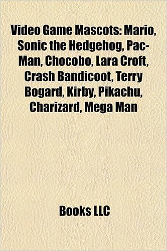 Video game mascots: Mario, Sonic the Hedgehog, Pac-Man, Chocobo, Lara Croft, Crash Bandicoot, Master Chief, Sora, Terry Bogard, Pikachu, Kirby: Amazon.es: ...