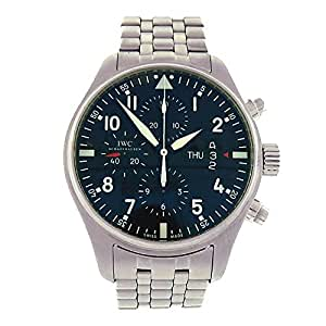 IWC Pilot automatic-self-wind mens Watch IW377704 (Certified Pre-owned)