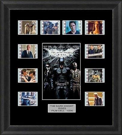 The Dark Knight Rises Back Light Backlit Limited Edition Film Cells Genuine 35mm Framed Film Cell Memorabilia Movie Art For Cinema Fans Collectors 5 Volt Usb Powered Led Backlight