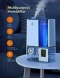 TaoTronics Humidifiers, 4L Cool Mist Ultrasonic