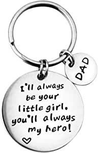 Augonfever Inspirational Gifts Keychain for Christmas Keyrings with Words