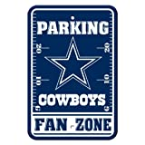 Fremont Die NFL Dallas Cowboys Plastic Parking Sign