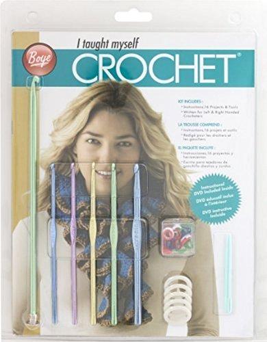 I Taught Myself Crochet Beginners Kit by Boye
