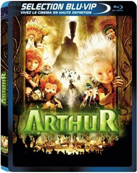 Amazon Com Arthur And The Invisibles Blu Ray Mia Farrow Freddie Highmore Ron Crawford Penny Balfour Doug Rand Adam Lefevre Jean Bejote Njamba Saul Jephcott Lee Delong Christian Erickson Luc Besson Categoryarthouse Categorycultfilms