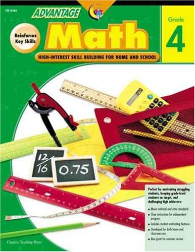 Advantage Math Grade 4: High-interest Skill Building for Home and School