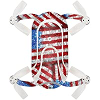 Skin For ZEROTECH Dobby Pocket Drone – Flag Drips | MightySkins Protective, Durable, and Unique Vinyl Decal wrap cover | Easy To Apply, Remove, and Change Styles | Made in the USA