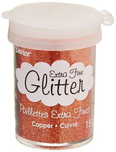 Darice 1219 03 Copper Glitter Supply