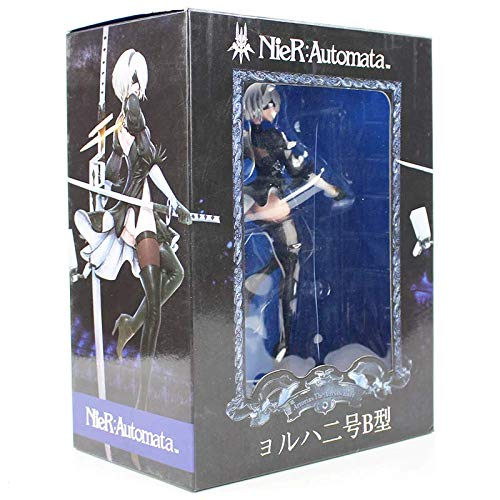 25cm Game NieR:Automata Yorha No.2 Type B 2B Cartoon Sexy Figurine PVC Action Figure Collectible Model Toy Doll Gift