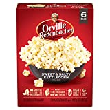 Orville Redenbacher's Sweet & Salty Kettlecorn Microwave Popcorn, 6 Count, 492g