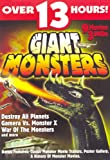 {9 Movies / Over 13 Hours} Gamera Vs. Monster X / Gamera Vs. Gaos / Yongary, Monster From the Deep / Warning From Space / Destroy All Planets / War of the Monsters / Gamera the Invincible / the Giant Gila Monster / Monster From a Prehistoric Planet