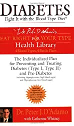 Diabetes: Fight It with the Blood Type Diet (Dr. Peter J. D'Adamo's Eat Right 4 Your Type Health Library)