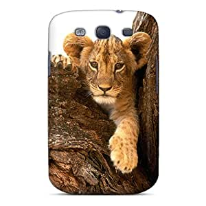 FiRPxYk1259hgVsr Tpu Phone Case With Fashionable Look For Galaxy S3 - Baby Lion