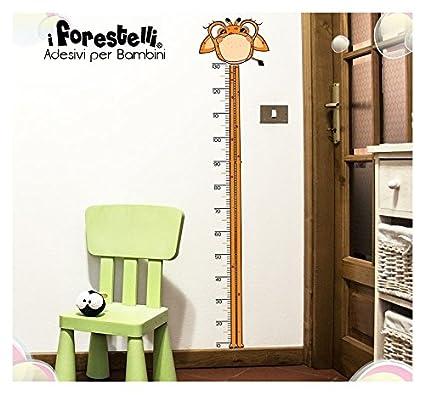 Forestelli® Metro crecimiento adhesiva para niños, diseño de la jirafa: para decorar la