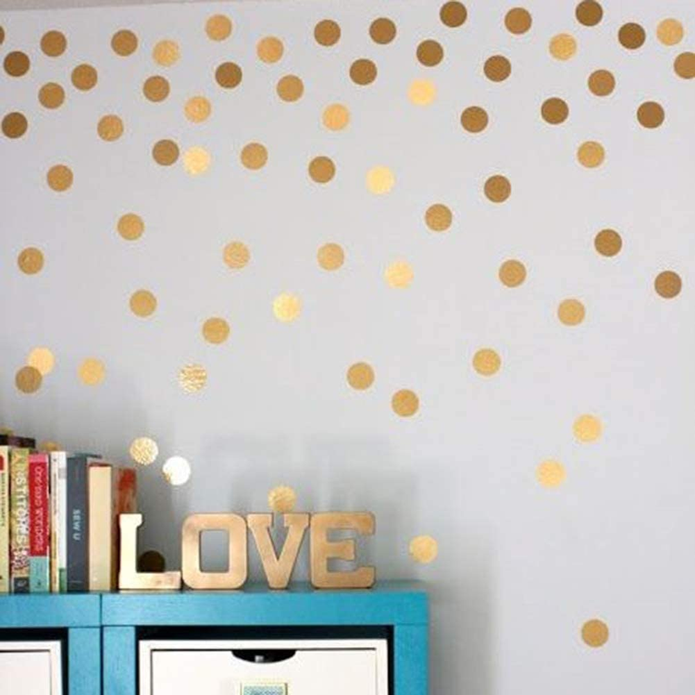 PandaLily Wall Stickers /& Murals Home D/écor Luminous 54 Dots Wall Sticker Kids Room Bedroom Wallpaper Mural Decal Art Decor
