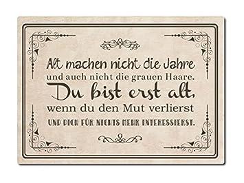 Luxecards Shabby Postkarte Aus Holz Alt Machen Nicht Die Jahre
