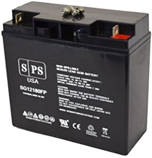 Replacement Battery Enduring 6FM18, 6-FM-18 12V 18Ah UPS Battery -(